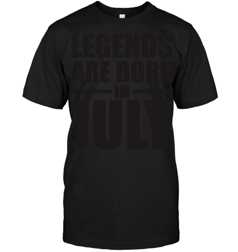 7308 Legends Are Born In July Shirt