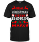 Real Christmas Sister Born In March Shirt