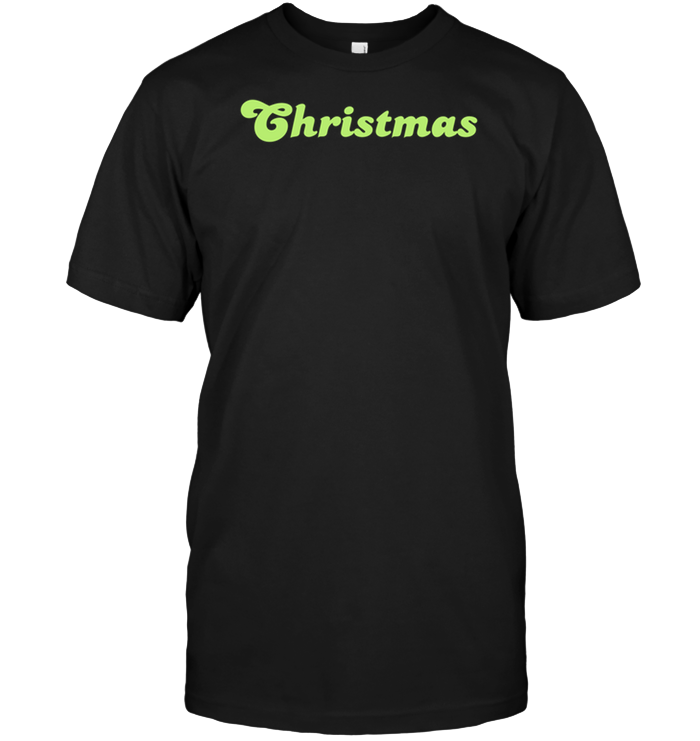Christmas In Curly Cool Shape Shirt
