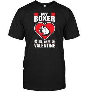 My Boxer Is My Valentine S Day Romantic Animal Shirt