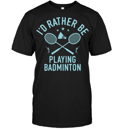 Badminton Player Team Coach Cool Funny Quote Gift Shirt