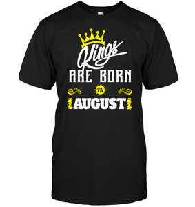 4874 Kings Are Born In August Shirt