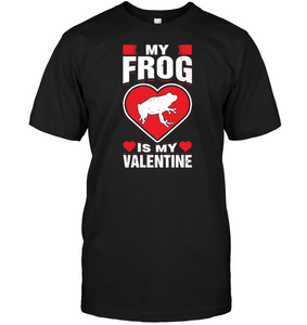 My Frog Is My Valentine S Amphibians Pet Animal Shirt