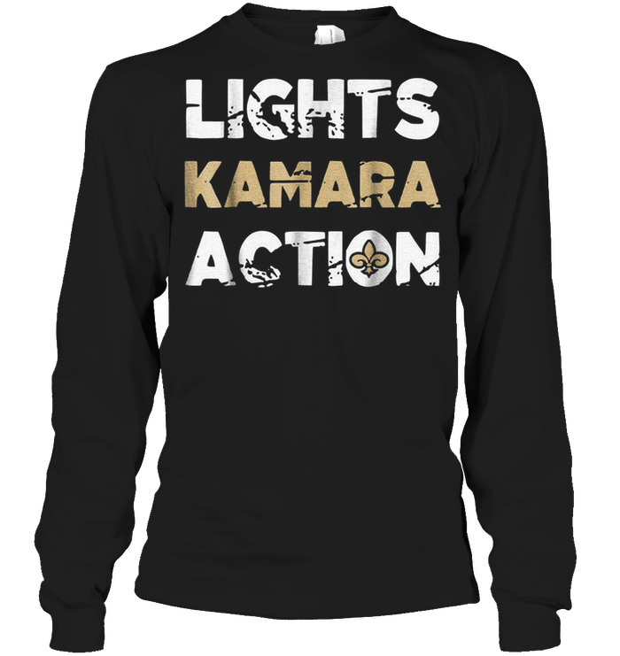 Lights Kamara Action Funny Football New Orleans T-Shirt