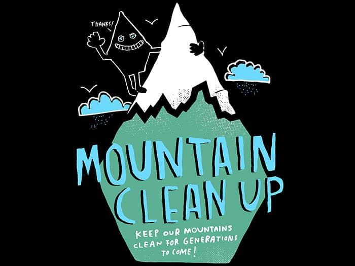 Volcom x Patagonia Mountain Clean-up 2018