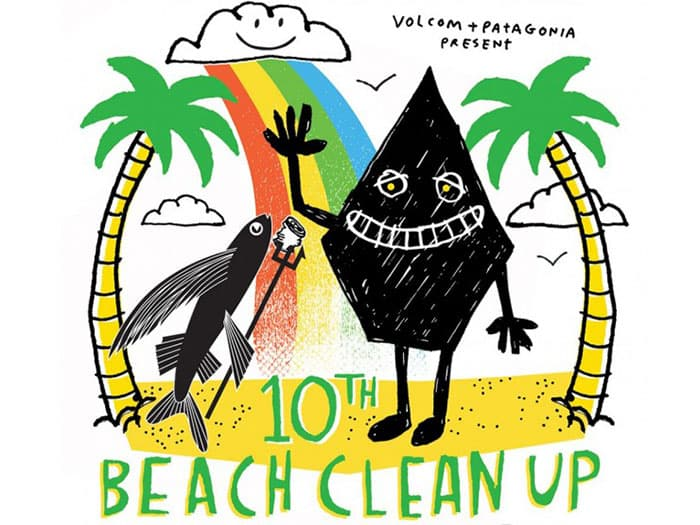 Volcom X Patagonia X CHP Sunrise Beach Clean Up