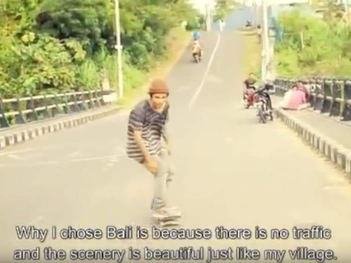 POL - Documentary about lives of three of Indonesia's top skateboarders