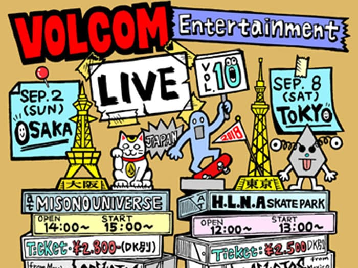 Volcom Entertainment Live - Vol. 10 - Report