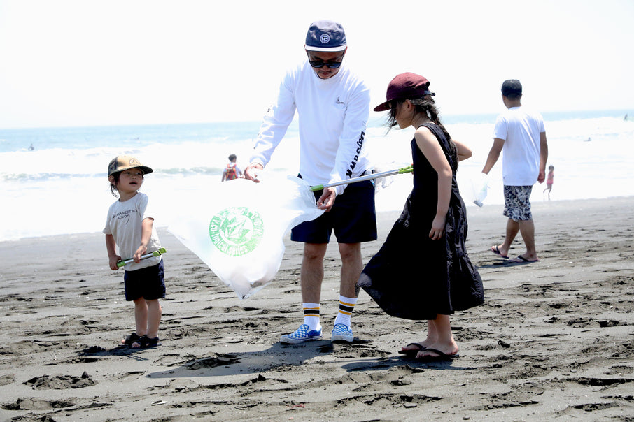 VOLCOM PATAGONIA PARTNER CHP BEACH CLEAN UP 2019 Spring レポート