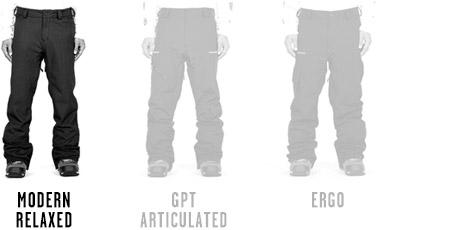 Mens Snow Pants Modern Relaxed Fits