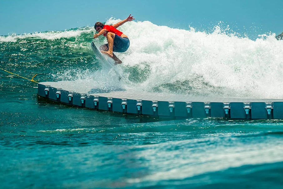 Noa Deane Battles a 100ft Floating Dock in Mexico