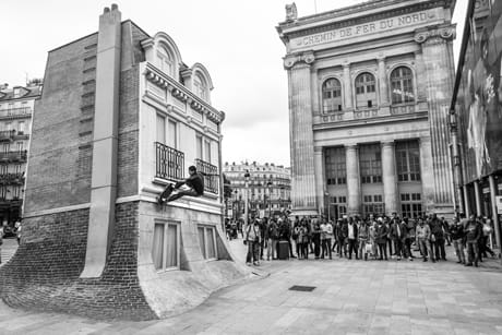 "Volcom Skate Team in Paris in the ""L'Waiting Game"" video edit"