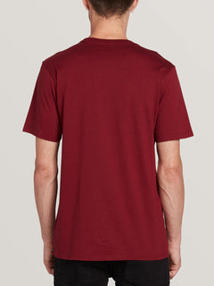 Deadly Stone Short Sleeve Tee Cabernet (A5011908_CAB) [B]