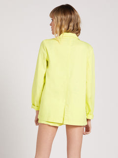 Coco Twill Blazer Tropic Yellow (B0522001_TPC) [38]