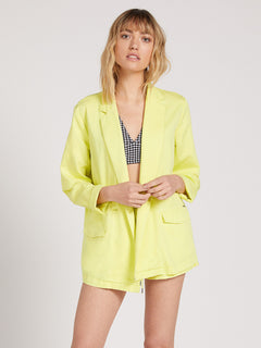 Coco Twill Blazer Tropic Yellow (B0522001_TPC) [40]