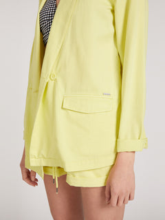 Coco Twill Blazer Tropic Yellow (B0522001_TPC) [5]