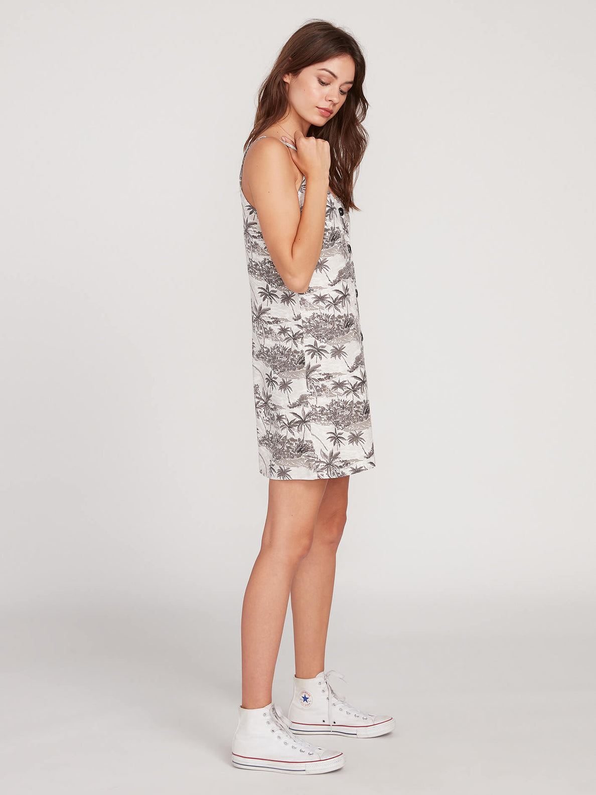 Vacay Me Dress Star White (B1312007_SWH) [1]