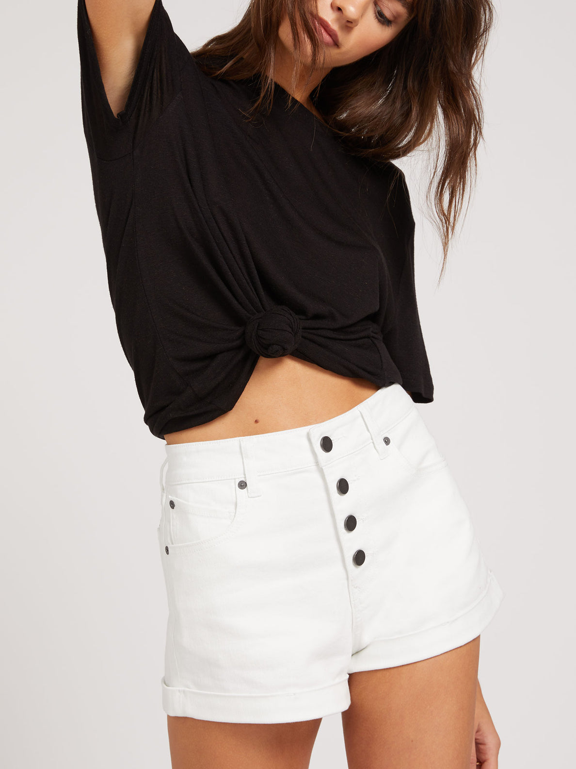 Vol Stone Short White (B1921907_WHT) [52]