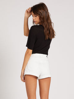 Vol Stone Short White (B1921907_WHT) [B]