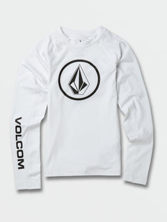 Lido Solid L/s By White (C9312000_WHT) [F]