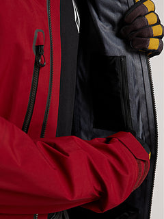 Guide Gore-Tex Jacket - - Burnt Red