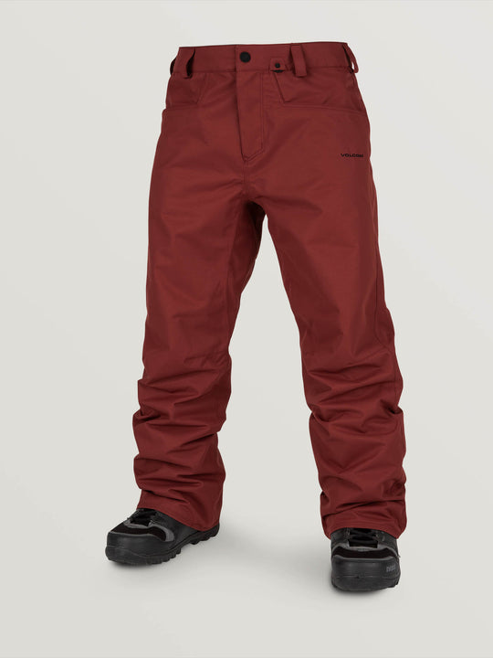 Carbon Pant - Burnt Red (G1351915_BTR) [F]