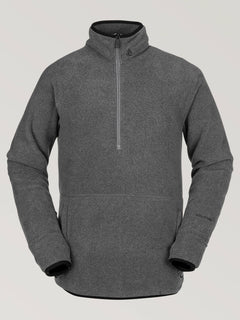 Polartec 1/2 Zip Heather Grey (G2452005_HGR) [F]