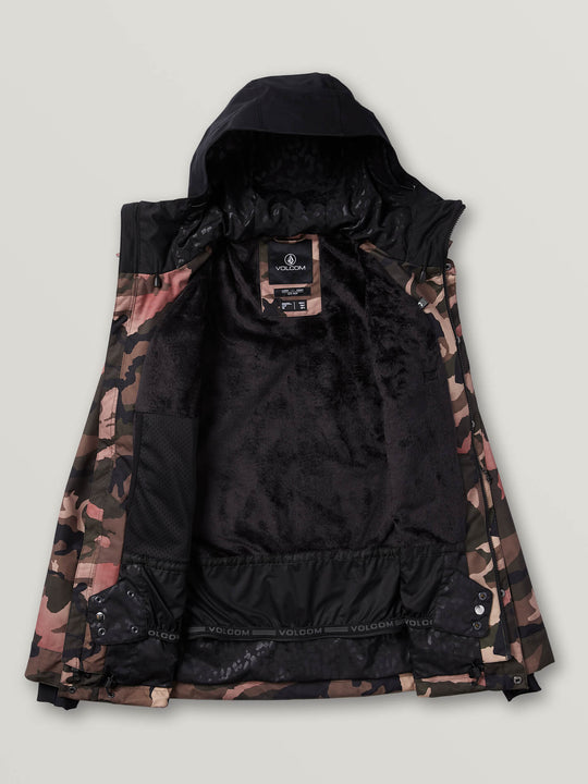 Kuma Jacket Faded Army (H0652001_FDR) [1]
