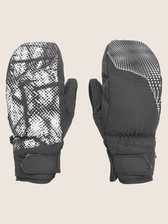 Stay Dry Gore Mitt - Black White