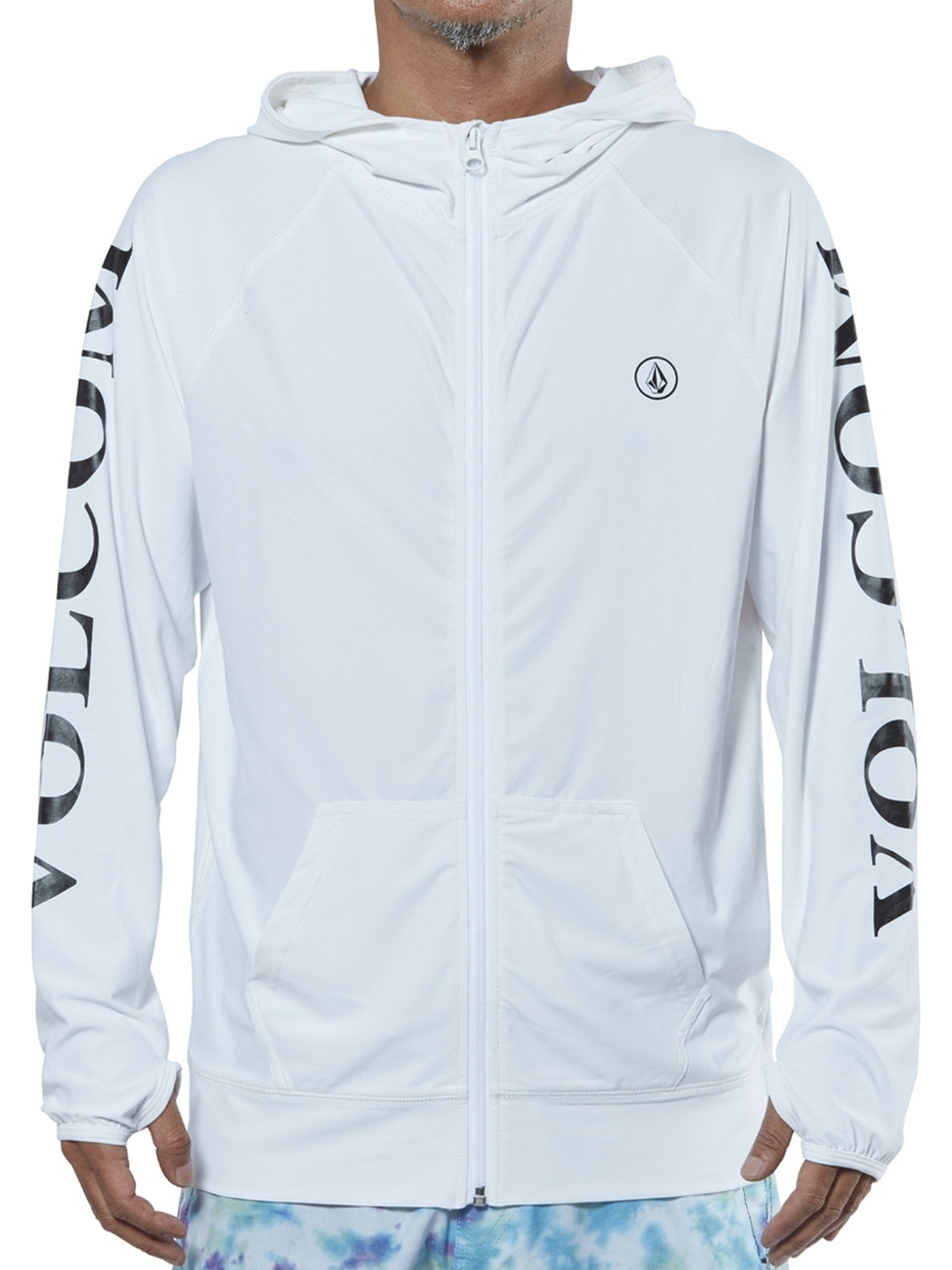 Trademark Surf Zip Hood - White
