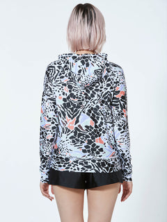 Vol Surf Rash Zip Hood - Multi (O03119JB_MLT) [B]