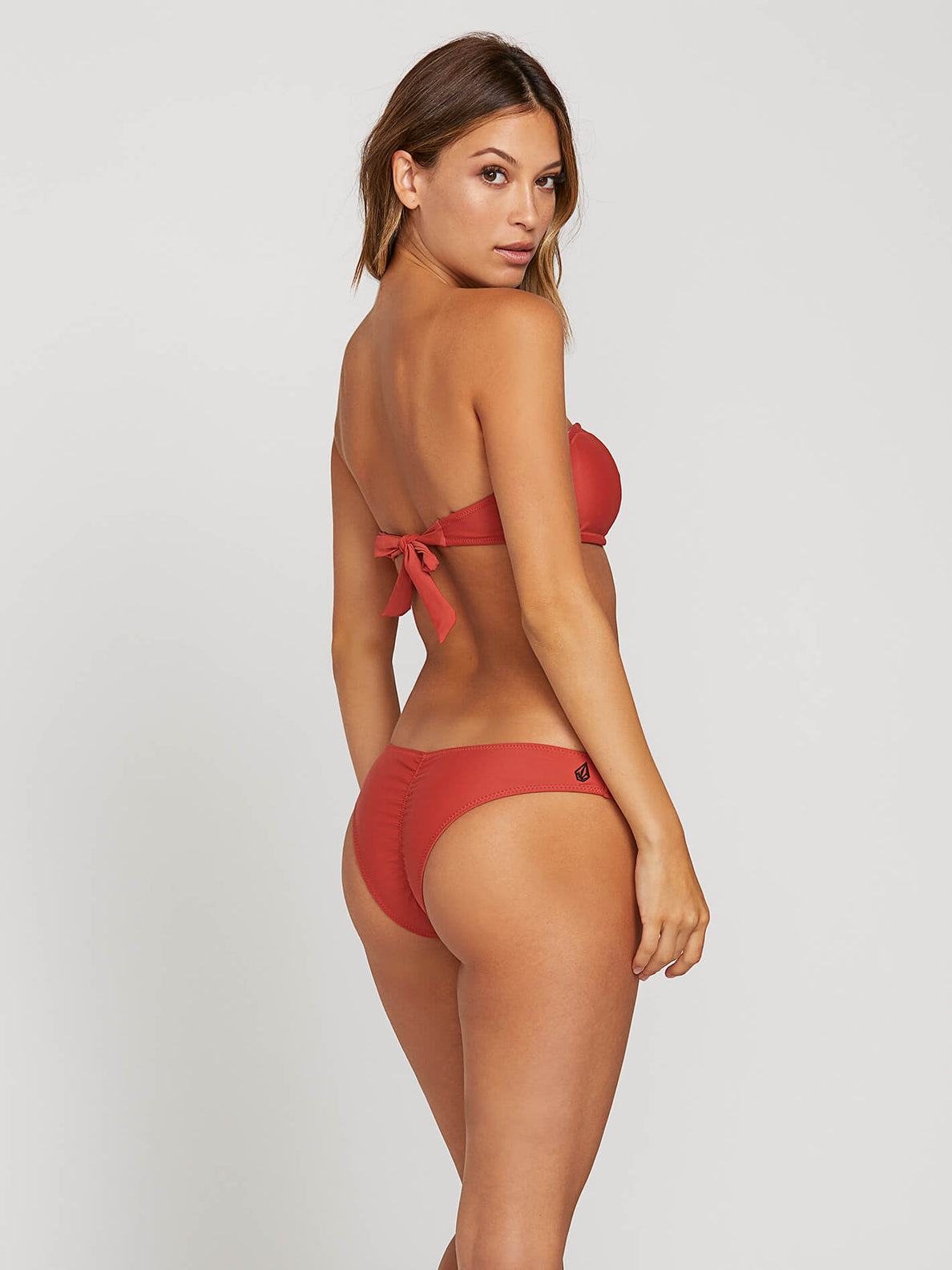 Simply Solid Bandeau Burnt Red (O1211904_BTR) [1]