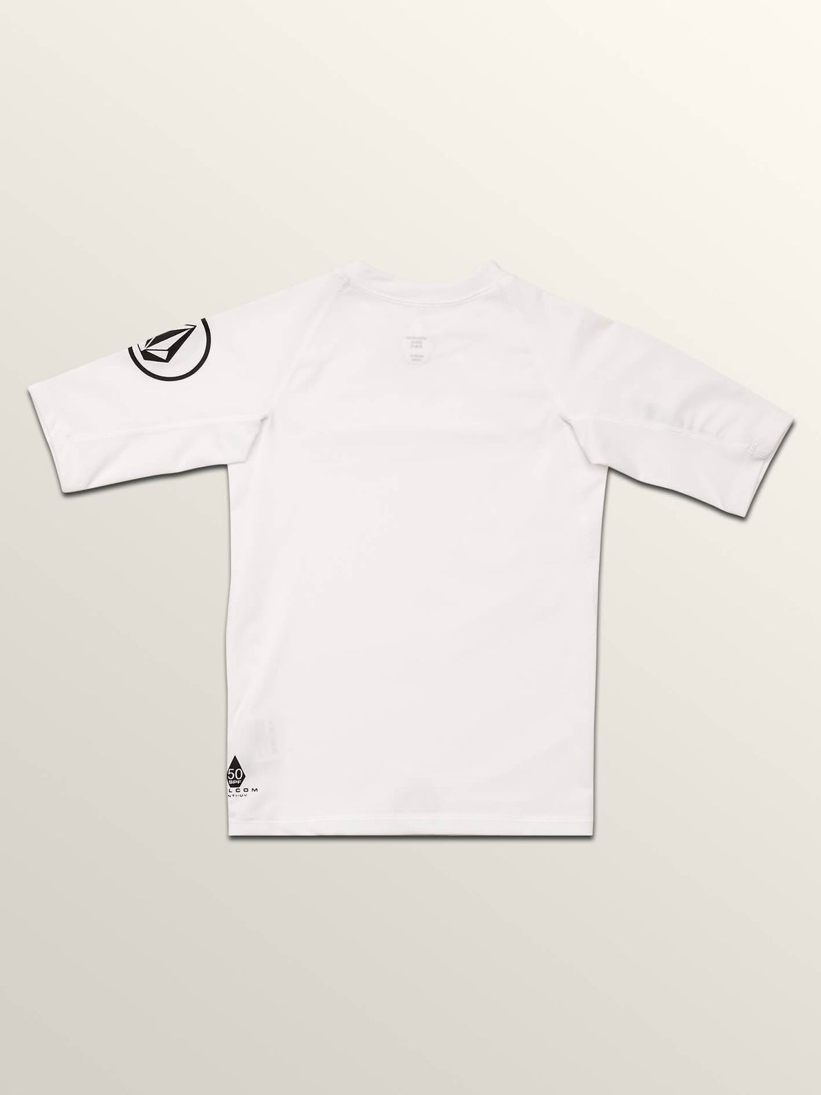 Lido Solid Short Sleeve Youth - White