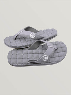 Recliner Sandal - Light Grey (V0811520_LGR) [F]