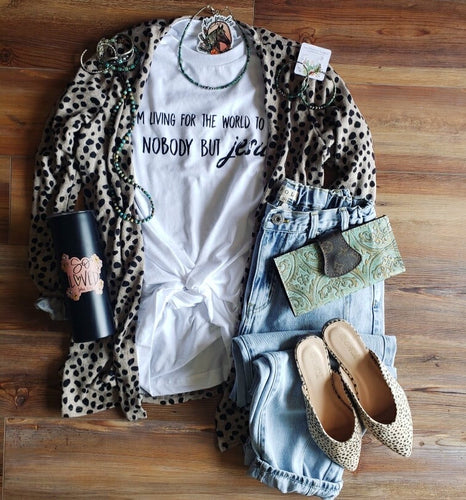 Light Cheetah Cardigan