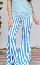 Load image into Gallery viewer, Striped Bell Bottoms