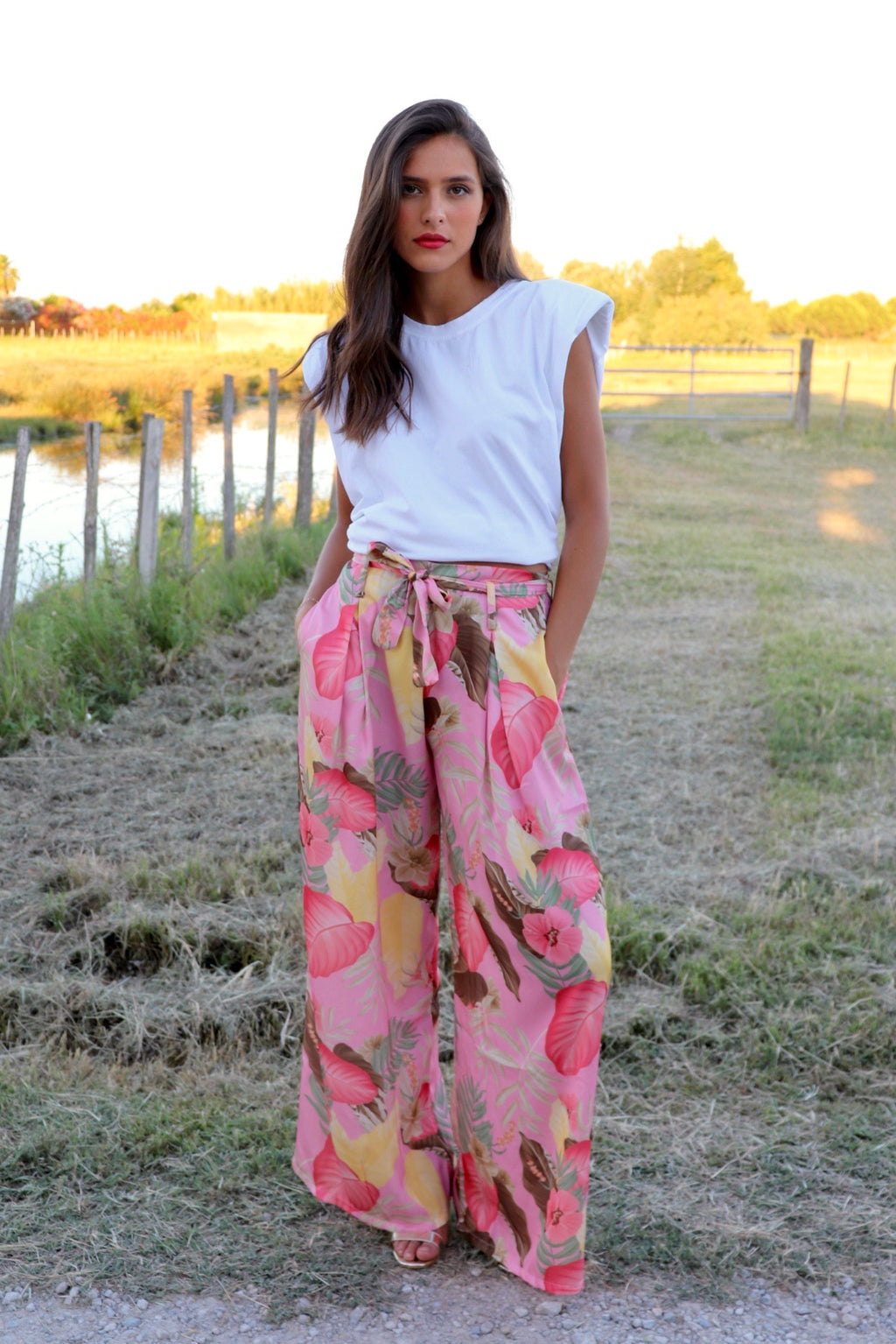 PANTALON FLAMINGO