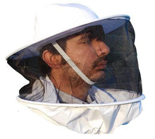 Load image into Gallery viewer, OZ ARMOUR 3 Layer Mesh Ventilated Beekeeping Jacket With Round Hat Veil