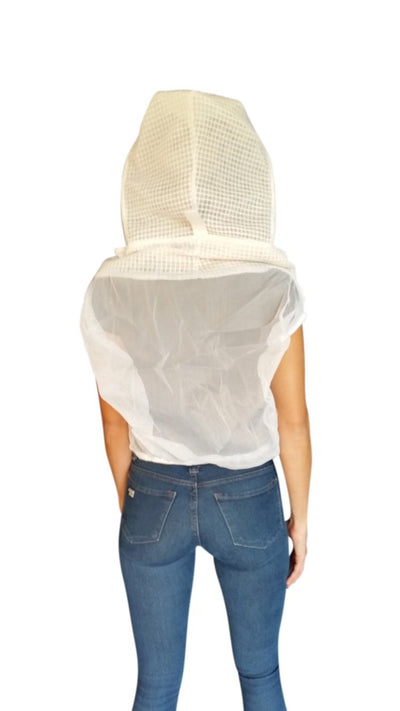 OZ ARMOUR 3 Layer Mesh Half Body/Waist Veil,Beekeeping,beekeeping gear,oz armour