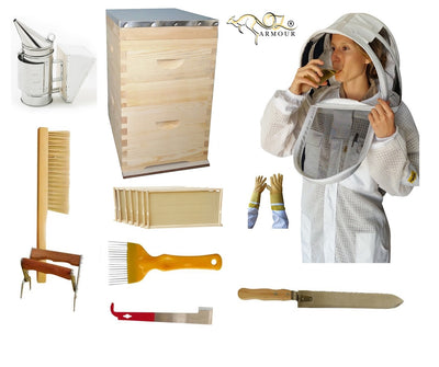 Super Saver Kit 4 with OZ ARMOUR 3 Layer Beekeeping Suit