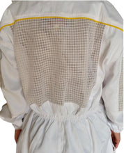 Load image into Gallery viewer, OZ ARMOUR Poly Cotton Semi Ventilated Beekeeping Suit With Fencing Veil