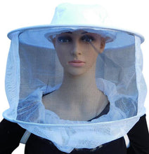 Load image into Gallery viewer, OZ ARMOUR Round Hat Veil With Shoulder Straps