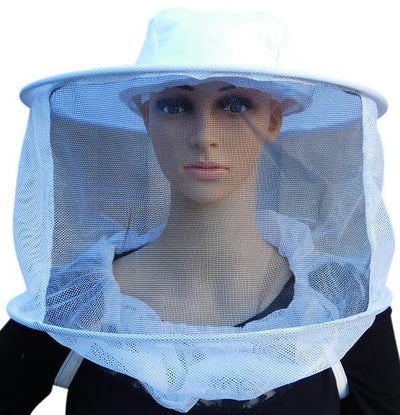 OZ ARMOUR Round Hat Veil With Shoulder Straps,Beekeeping,beekeeping gear,oz armour