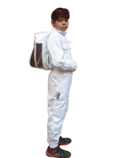 White Poly Cotton Children's Beekeeping Suit,Beekeeping,beekeeping gear,oz armour