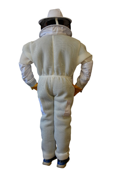 Ventilated Children's Beekeeping Suit with Round Brim Hat