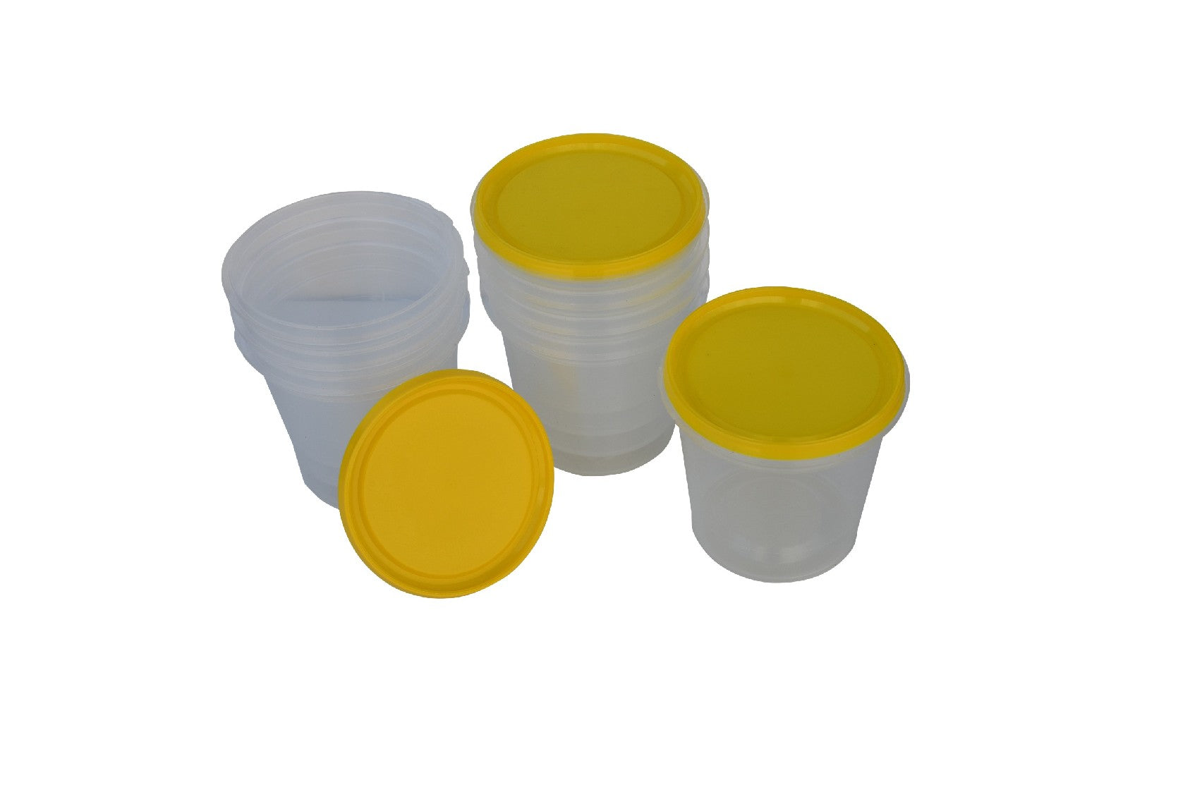 100 x Honey Containers 500 grams round