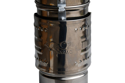 PREMIUM OZ ARMOUR S304 STAINLESS STEEL SMOKER EUROPEAN MADE