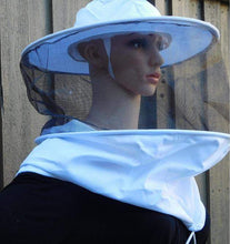 Load image into Gallery viewer, OZ ARMOUR Round Hat Veil With Strings