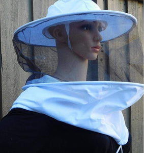 OZ ARMOUR Round Hat Veil With Strings