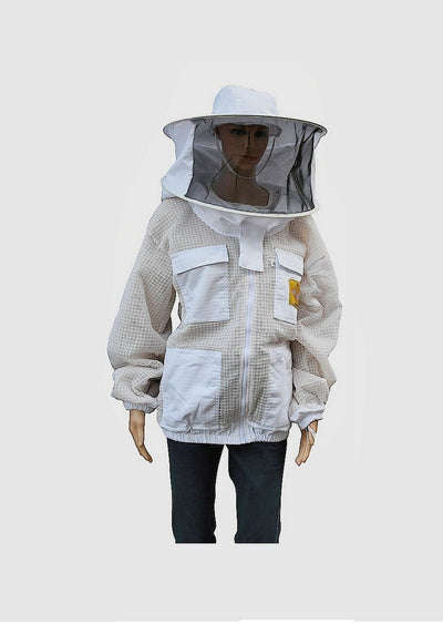 OZ APIARIST 3 Layer Mesh Ventilated Beekeeping Jacket With Your Choice Of Veil,Beekeeping,beekeeping gear,oz armour